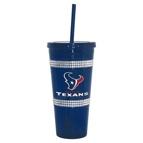 Boelter Houston Texans Double Bling Tumbler