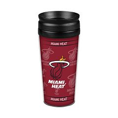Boelter Miami Heat Travel Tumbler Set