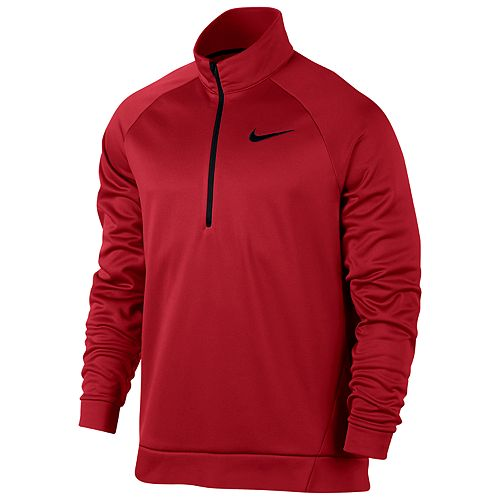 841416dede Big & Tall Nike Therma Training Quarter-Zip Pullover