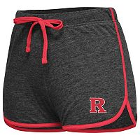Juniors' Campus Heritage Rutgers Scarlet Knights Get A Strike Gym Shorts