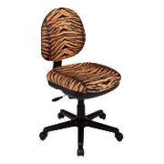 Office Star Products Contemporary Flex Back Swivel Chair - Tiger