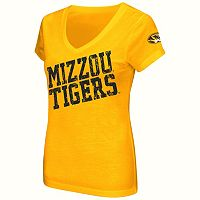Juniors' Campus Heritage Missouri Tigers Shoutout V-Neck Tee