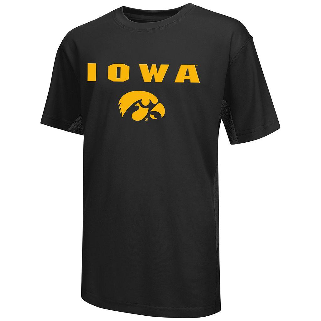 Boys 8-20 Campus Heritage Iowa Hawkeyes Ultra Tee
