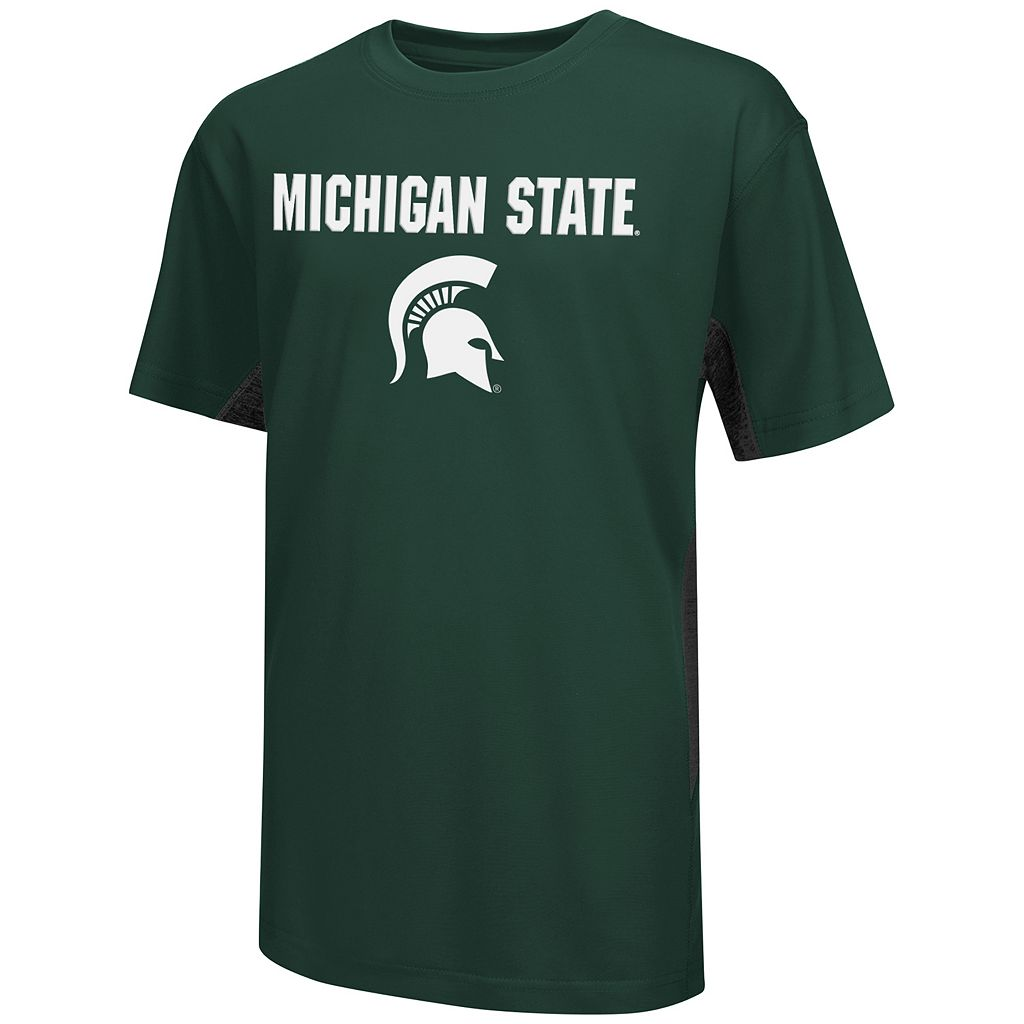 Boys 8-20 Campus Heritage Michigan State Spartans Ultra Tee