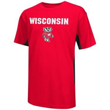Boys 8-20 Campus Heritage Wisconsin Badgers Ultra Tee