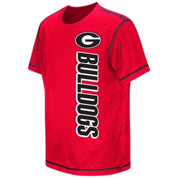 Boys 8-20 Campus Heritage Georgia Bulldogs Sleet Tee