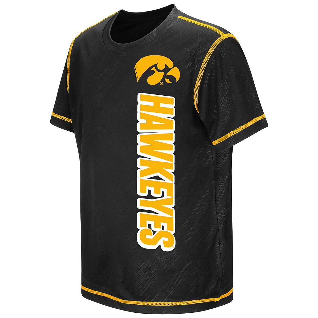 Boys 8-20 Campus Heritage Iowa Hawkeyes Sleet Tee