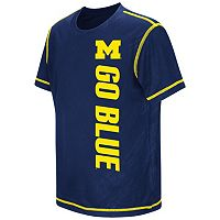Boys 8-20 Campus Heritage Michigan Wolverines Sleet Tee