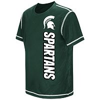 Boys 8-20 Campus Heritage Michigan State Spartans Sleet Tee