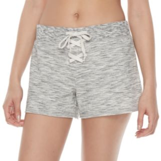 Juniors' SO® Lace-Up Front Lounge Shorts