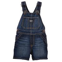 Toddler Boy OshKosh B'gosh Dark Wash Denim Shortalls