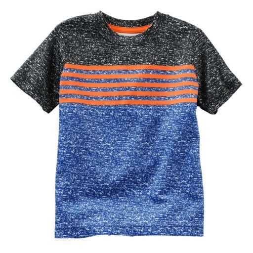 Boys 4-8 OshKosh B'gosh® Colorblock Striped Active Tee