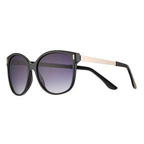 LC Lauren Conrad 56mm Mallard Modified Cat-Eye Gradient Sunglasses