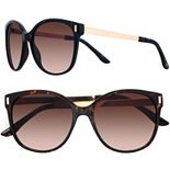 LC Lauren Conrad 56mm Mallard Modified Cat-Eye Gradient Sunglasses