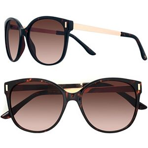 24e9bad99 LC LAuren Conrad Summer Breeze 54mm Modified Round Gradient Sunglasses