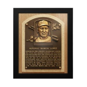 Cleveland Indians Al Lopez Baseball Hall of Fame Framed Plaque Print