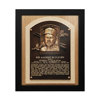 Minnesota Twins Bert Blyleven Baseball Hall of Fame Framed Plaque Print
