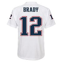 Boys New England Patriots Tom Brady NFL Performance Jersey