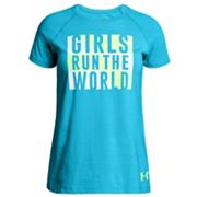Girls 7-16 Under Armour 'Girls Run The World' Graphic Tee