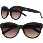 LC Lauren Conrad 56mm Tamarind Cat-Eye Gradient Sunglasses