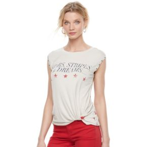 "Women's Rock & Republic® ""Stars & Dreams"" Graphic Tee"