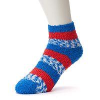 Women's For Bare Feet Detroit Pistons Pro Stripe Sleep Socks