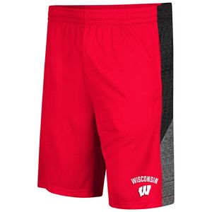 Men's Colosseum Wisconsin Badgers Friction Shorts