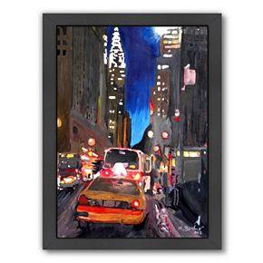 Americanflat Street Scene 2 Framed Wall Art