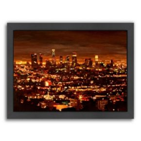 Americanflat City Of Angels Framed Wall Art