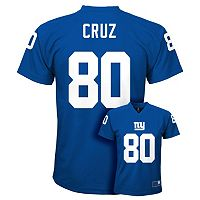 Boys 8-20 New York Giants Victor Cruz Replica Jersey