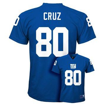 Boys 8-20 New York Giants Victor Cruz Replica Jersey