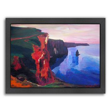 Americanflat Cliffs Of Moher Framed Wall Art