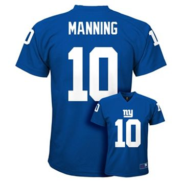 Boys 8-20 New York Giants Eli Manning Replica Jersey