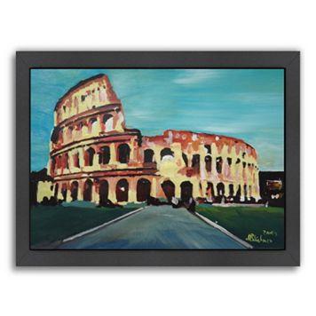 Americanflat Colloseum Framed Wall Art