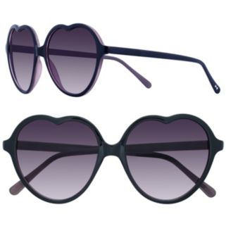 LC Lauren Conrad 57mm Lust Heart Gradient Sunglasses