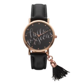 "Women's ""Hello Gorgeous"" Tassel Watch"