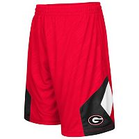 Boys 8-20 Campus Heritage Georgia Bulldogs Sleet Shorts