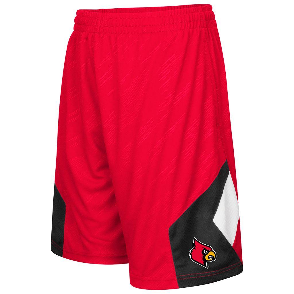 Boys 8-20 Campus Heritage Louisville Cardinals Sleet Shorts