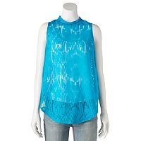 Women's Apt. 9® Burnout Mockneck Tank