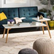 Safavieh Contemporary 2-Tier Coffee Table
