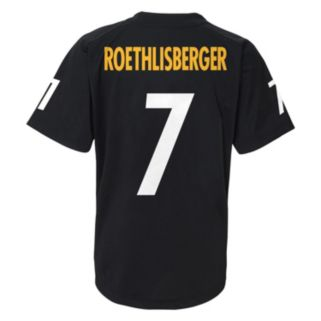 Boys 8-20 Pittsburgh Steelers Ben Roethlisberger Replica Jersey