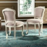 Safavieh French Classic Accent Chair 2 pc Set