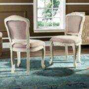 Safavieh French Classic Accent Chair 2-piece Set