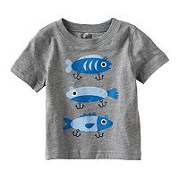 Baby Boy Jumping Beans® Fishing Lure Graphic Tee