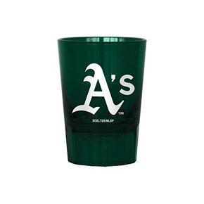 Boelter Oakland Athletics 4-Pack Shot Glass Set