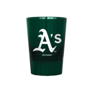Boelter Oakland Athletics 4-Pack Shot Glass Set