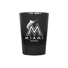 Boelter Miami Marlins 4-Pack Shot Glass Set