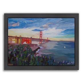 "Americanflat ""Goldengate 3"" Framed Wall Art"