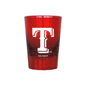 Boelter Texas Rangers 4-Pack Shot Glass Set