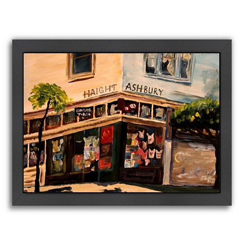 "Americanflat ""Haight Ashbury"" Framed Wall Art"